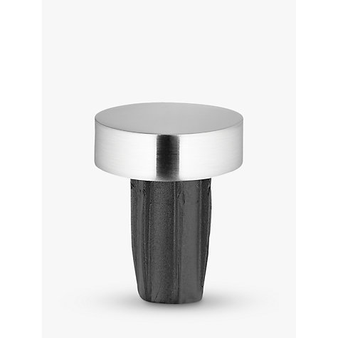 Buy John Lewis Steel Curtain Stud Finial, Dia.28mm Online at johnlewis.com