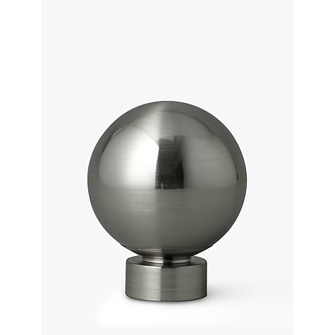 Buy John Lewis Steel Ball Finial, Dia.28mm Online at johnlewis.com