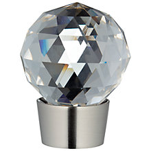 Buy John Lewis Steel Glass Finial, Dia.28mm Online at johnlewis.com