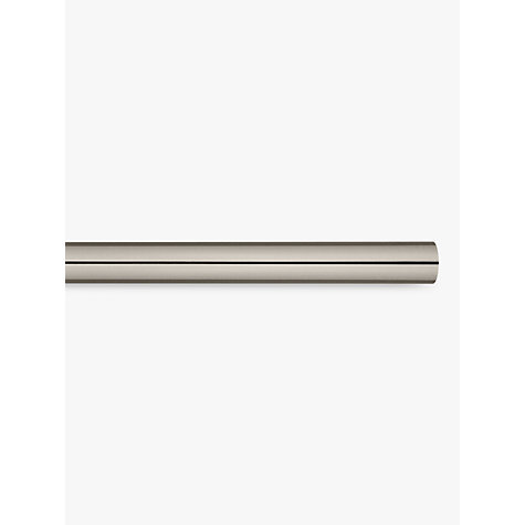 Buy John Lewis Gunmetal Curtain Pole, L150cm x Dia.28mm Online at johnlewis.com
