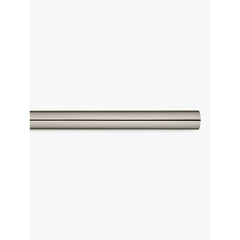 Buy John Lewis Gunmetal Curtain Pole, L180cm x Dia.28mm Online at johnlewis.com