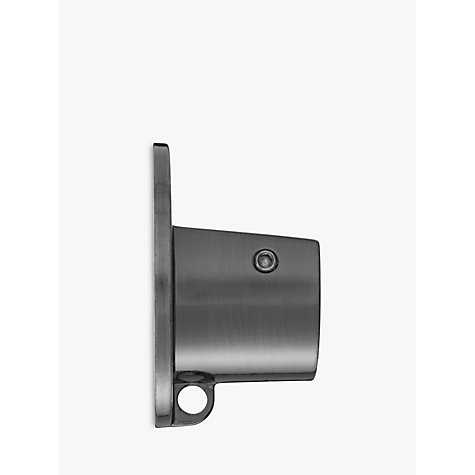 Buy John Lewis Gunmetal Recess Bracket, Dia.28mm Online at johnlewis.com