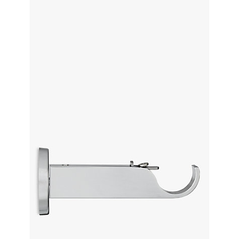 Buy John Lewis Chrome Side / Centre Bracket, Dia.28mm Online at johnlewis.com