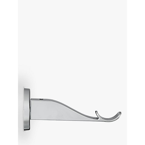 Buy John Lewis Chrome Contemporary Passing Bracket, Dia.28mm Online at johnlewis.com