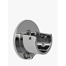 Buy John Lewis Chrome Recess Bracket, Dia.28mm Online at johnlewis.com