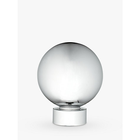 Buy John Lewis Chrome Ball Finial, Dia.28mm Online at johnlewis.com