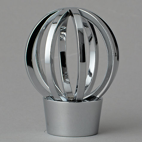 Buy John Lewis Chrome Cage Finial, Dia.28mm Online at johnlewis.com