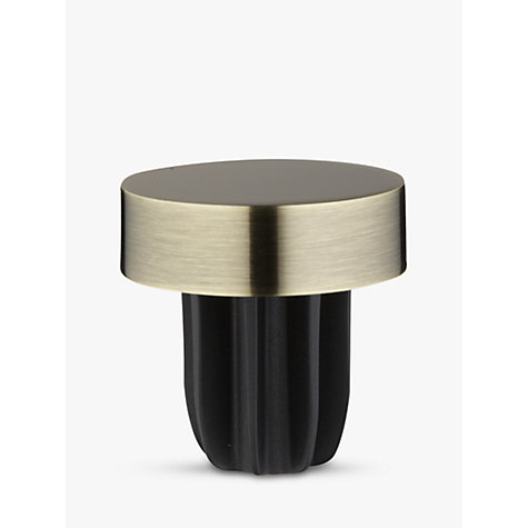 Buy John Lewis Antique Brass Stud Finial, Dia.28mm Online at johnlewis.com