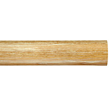 Buy John Lewis Limed Ash Curtain Pole, L150cm x Dia.45mm Online at johnlewis.com