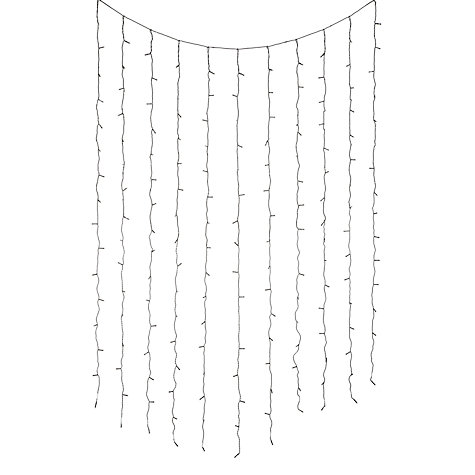 Buy Durawise LED Christmas Curtain Lights, x192 Online at johnlewis.com