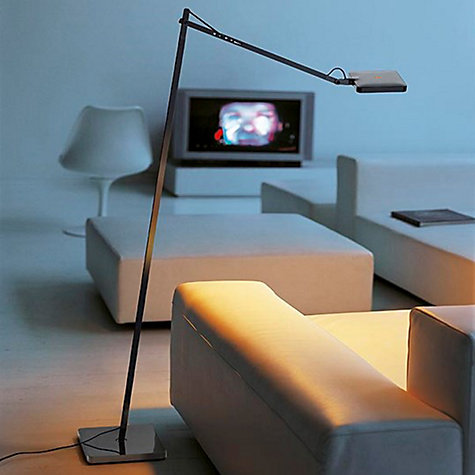 Buy Flos Kelvin LED Floor Lamp, White Online at johnlewis.com