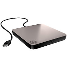 Buy HP USB External NLS DVD-RW Drive Online at johnlewis.com