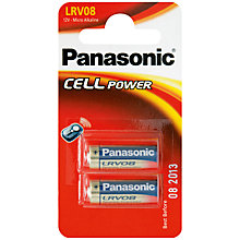 Buy Panasonic LRVO8 Battery Online at johnlewis.com