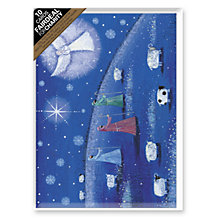 Buy Almanac Angel Appearing Charity Christmas Cards, Box of 10 Online at johnlewis.com