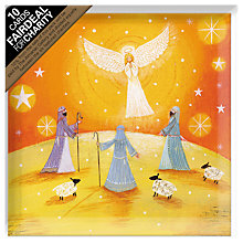 Buy Almanac Angels and Shepherds Charity Christmas Cards, pack of 10 Online at johnlewis.com