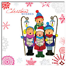 Buy Hammond Gower Carol Singers Charity Christmas Cards, Box of 5 Online at johnlewis.com