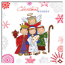 Buy Hammond Gower Children's Nativity Scene Charity Christmas Cards, Box of 5 Online at johnlewis.com