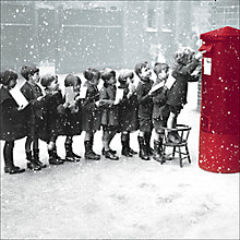 Buy Almanac Christmas Post Charity Christmas Cards, Box of 8 Online at johnlewis.com