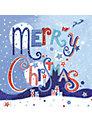 Paperhouse Merry Christmas Charity Cards, pack of 6