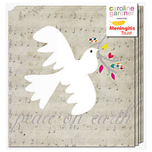 Buy Caroline Gardner Peace on Earth Charity Christmas Cards, Box of 5 Online at johnlewis.com