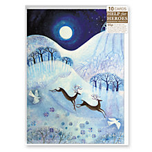 Buy Almanac Prancer, Dancer, Vixen Charity Christmas Cards, pack of 10 Online at johnlewis.com