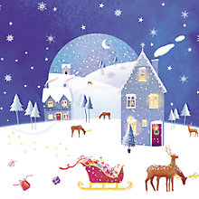 Buy Paperhouse Preparing For Take Off Charity Christmas Cards, pack of 6 Online at johnlewis.com