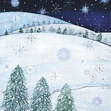 Buy Almanac Snowy Owl Charity Christmas Cards, pack of 10 Online at johnlewis.com