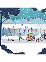 Paperhouse The Skaters Charity Christmas Cards, pack of 6