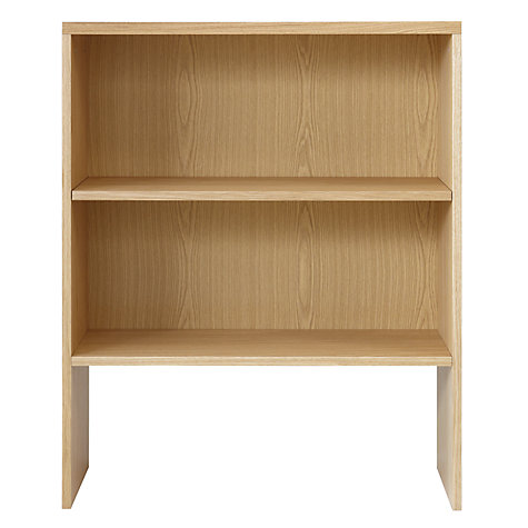 Buy John Lewis Abacus 3 Shelf Bookcase Online at johnlewis.com