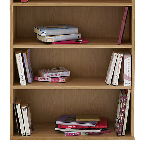 Buy John Lewis Abacus 5 Shelf Bookcase Online at johnlewis.com