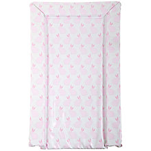 Buy John Lewis Bunnies Changing Mat, Pink Online at johnlewis.com