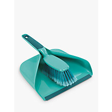 Buy Leifheit Dustpan and Brush Set Online at johnlewis.com