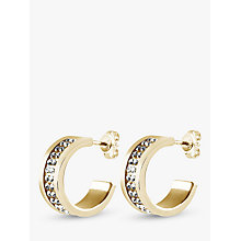 Buy Dyrberg/Kern Kimmie Crystal Hoop Earrings Online at johnlewis.com