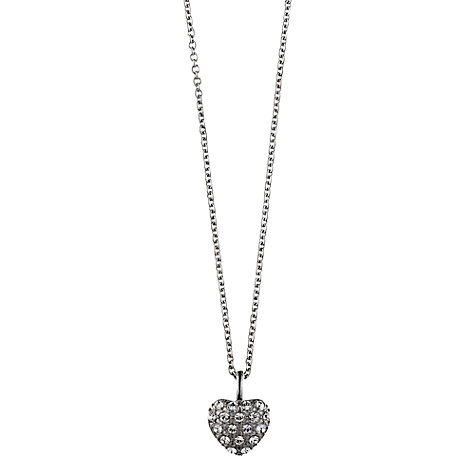 Buy Dyrberg/Kern Ora Heart Shaped Crystal Pendant Necklace Online at johnlewis.com