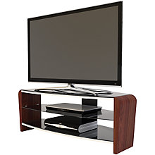 Buy Alphason Francium 110 TV Stand for up to 50-inch TVs, Black/Walnut Online at johnlewis.com