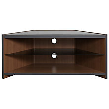 Buy Optimum Space 1000 TV Stand for up to 42-inch TVs, Carbon/Walnut Online at johnlewis.com