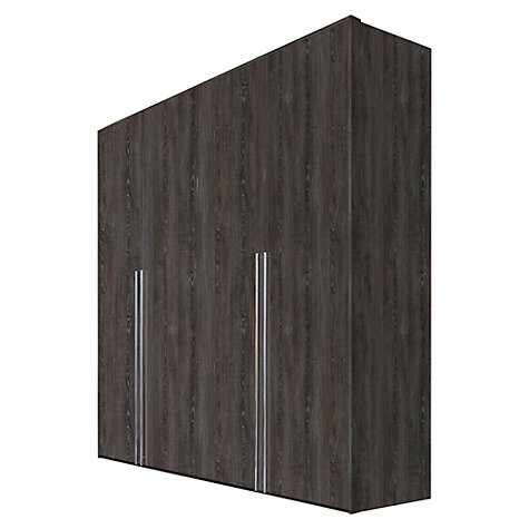 Buy John Lewis Vier Hinged Wardrobes, Wood, 2m Online at johnlewis.com