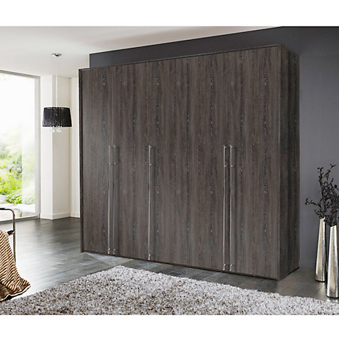 Buy John Lewis Vier Hinged Wardrobes, Wood, 2.5m Online at johnlewis.com