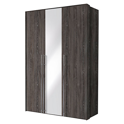 Buy John Lewis Vier Hinged Wardrobes, Mirror, 1.5m Online at johnlewis.com