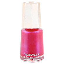 Buy MAVALA Mini Colour Nail Polish - Pearl Online at johnlewis.com