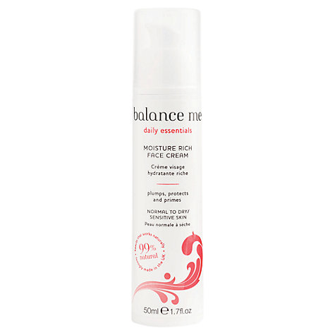 Buy Balance Me Moisture-Rich Face Cream, 50ml Online at johnlewis.com