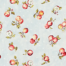 Buy John Lewis Apple Blossom PVC Cut Length Tablecloth, Linen Online at johnlewis.com