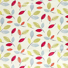 Buy John Lewis Woodland Leaves PVC Tablecloth Fabric, Multi Online at johnlewis.com