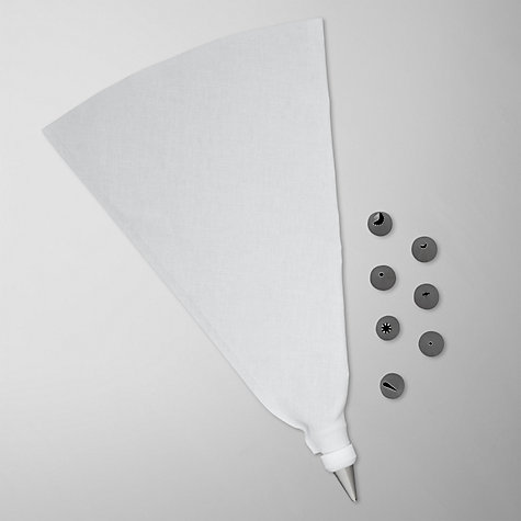 Buy John Lewis Icing Bag and Nozzle Set Online at johnlewis.com