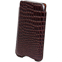 Buy John Lewis Leather Sleeve for iPhone 4/s Online at johnlewis.com