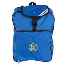 Buy St Peter's Eaton Square C of E Primary School Rucksack, Blue Online at johnlewis.com