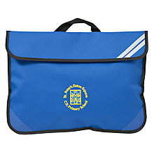 Buy St Peter's Eaton Square C of E Primary School Book Bag, Blue Online at johnlewis.com