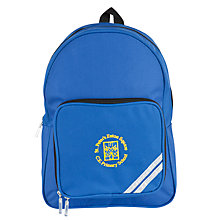 Buy St Peter's Eaton Square C of E Primary School Small Rucksack, Blue Online at johnlewis.com