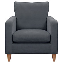 Buy John Lewis Bailey Armchair, Steel Online at johnlewis.com