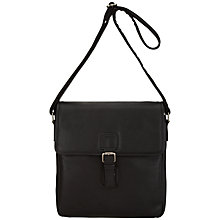 Buy John Lewis Amalfi Reporter Bag, Black Online at johnlewis.com